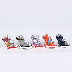 4pcs Pet Dog Boots Puppy Cute New Sports Anti slip Shoes Sneakers For Small Dogs