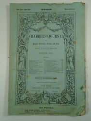 1855 Chambers Journal Eleventh Century Chinese Socialism Service And Slavery
