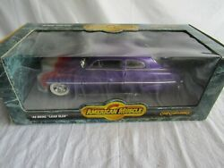 American Muscle Diecast Car 118 Scale 1949 Ford Merc Lead Sled