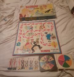 Blondie The Hurry Scurry Game Transogram Games 1966-missing Parts-see Details