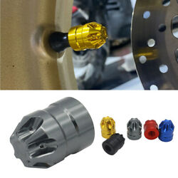 Cnc Universal Motorcycle Valve Core Cap Tires Gas Nozzle Cover Aerated Mouth Cup