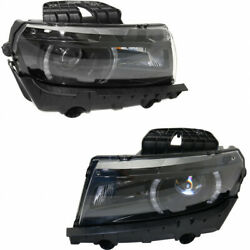 For Chevy Camaro Headlight 2014 2015 Lh And Rh Pair/set Hid Gm2502392 | 23398037
