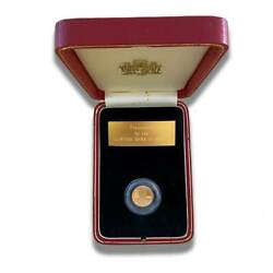1989 Malta 25th Ann. Independance Lm 100 Gold Coin Proof Gold