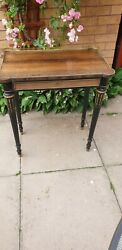 Antique French Regency Rosewood Side Table 19th C