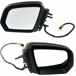 For Mercedes-benz Gl320/ml320 Mirror 2009 Lh And Rh Pair/set Paintable Heated