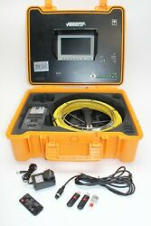 Forbest Luxury Color Sewer/drain Camera, 130' Cable W/ Sonde Transmitter