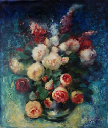 The Flowers Original Oil Painting