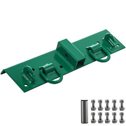 Vevor Tractor Bolt On Hooks Compact Bolt On Grab Hook 1/4and039and039 Thick D Ring 1/2and039and039