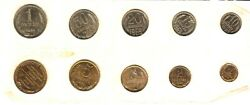 1969 Soviet Russian Coins Year Set Uncirculated Ussr Very Rare Coin Collection