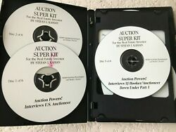 The Ultimate Auction Real Estate Auctioneer System By Stefan Kasian - 6 Cdand039s