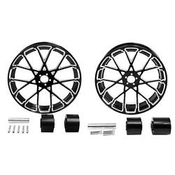 18 Front And Rear Wheel Rim W/ Hub Fit For Harley Touring Models 2008-2021 2020