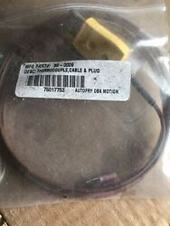 New Autofry Thermocouple Cable And Plug Item 89-0009