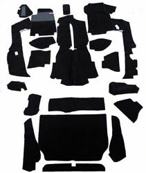 Carpet Set Porsche 928 +928s Silverknit Black And Other Colors. Made In Germany