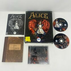 American Mcgee's Alice - Big Box Edition Pc Pre Owned Good Condition
