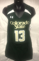 Colorado State Rams Under Armour Reversible Basketball Jersey Men's L New W/tag