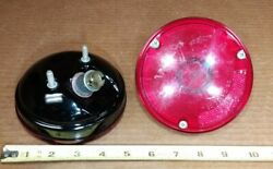 Nos Gm 60-64 Chevy Gmc Truck Rid-60 Taillight Assembly Pair W/ Guide Lens