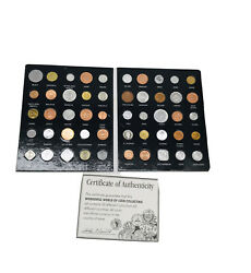 Morgan Mint Wonderful World Of Coin Collecting 50 Coins 50 Countries, Pre-owned