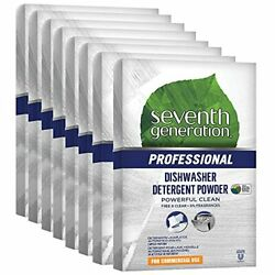 Seventh Generation Professional Dishwasher Detergent Powder Free And Clear Unsc...