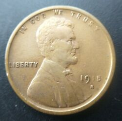 1915-s Lincoln Cent Wheat Penny Xf Extremely Fine Or Au About Uncirculated