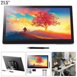 21.5 Drawing Tablet W/ Screen Graphic Pen Display 8192 Pressure Levels 5080 Lpi