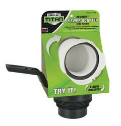 Thetford 17879 Titan Revolve Rv Sewer Adapter With Handle