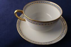 Set Of 6 Ch Field Haviland Limoges Cups And Saucers