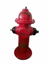 """Jack Daniels Tennessee Fire Hydrant Man Cave Display Decor Advertising 36"""""""