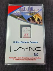 A7 New Us/canada Navigation Map Gps Update Sd Car, Sync Fits Ford And Lincoln