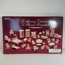 Hearth Song Halfpenny Victorian Doll House Furniture Wooden Miniature Cute