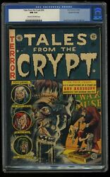 Tales From The Crypt 34 Cgc Nm 9.4 Cream To Off White Gaines File Copy
