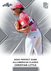 10 Ct Lot 2020 Christian Little Leaf Perfect Game Nike Aa Classic Aflac All Star