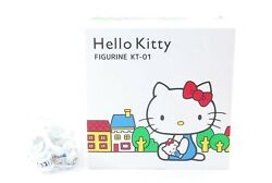 Hello Kitty Figurine Kt-01 Cell Phone White With Strap Sim Free F/s New