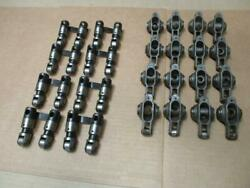 Crower Roller Rocker Arms 1.7 Bb Chevy Plus Roller Lifters Used