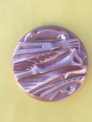 Greece Medal 60 Mm Appeal Of The Acropolis-peace Distinctionsign G.kalakallas