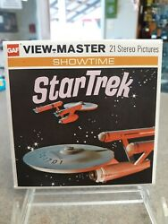 View-master Showtime Star Trek 1968 3 Reels And Storybook ☆ Packet B 499