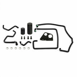 Mishimoto For Ford F-150 2017-2020 Powerstroke Baffled Oil Catch Can Kit 6.7l