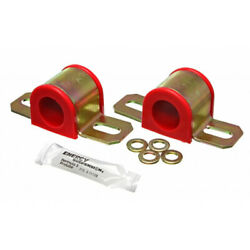 Energy Suspension Universal Sway Bar Bushings 28mm Red Non-greasable