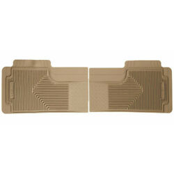 Husky Liners For Buick Enclave 2012-2014 Heavy Duty Floor Mats 2nd Row Tan