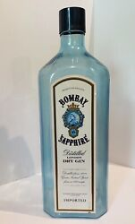 Bombay Sapphire Gin Man Cave Giant Prop Advertising Bottle 22 Bar Store Promo