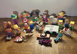 22 Vintage Toy Lot Hot Wheels, Cabbage Patch, Fisher Price Pez Snoopy Plus More