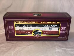 Mth State Of Maine New Haven Products 40' Reefer Box Car 20-94044