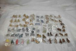 Vintage 79pc Lot Wade Red Rose Tea Figurines Mixed Lot Some Duplicates Euc