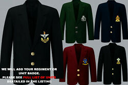 Units R To S Army Royal Navy Air Force Marines Regiment 2 Button Blazer To 52