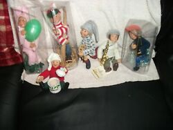 7 Byers Choice Kindle Creations Figures Accessories Bendable Ornaments