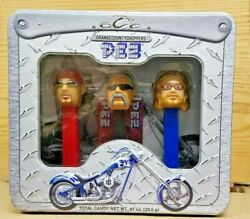 Orange County Choppers Pez Candy Dispenser Set - Collectible New Sraled 2006