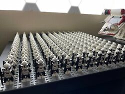 Lego Star Wars Clone Trooper Army Lot Almost 200 Minifigures
