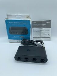 Official Nintendo Oem Gamecube Controller Adapter For Switch Or Wii U Wup-028