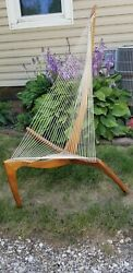 1960and039s Jorgen Hovelskov Design Harp Chair. Great Used Condition