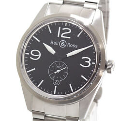 Bell And Ross Menand039s Watches Original Black Brv123 Dial Automatic Winding