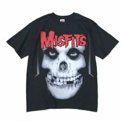 Vintage 1990and039s Misfits 20 Years Of Terror T-shirt Black M Size W53cm